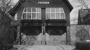 Das alte Friesenbootshaus in Oberschöneweide.